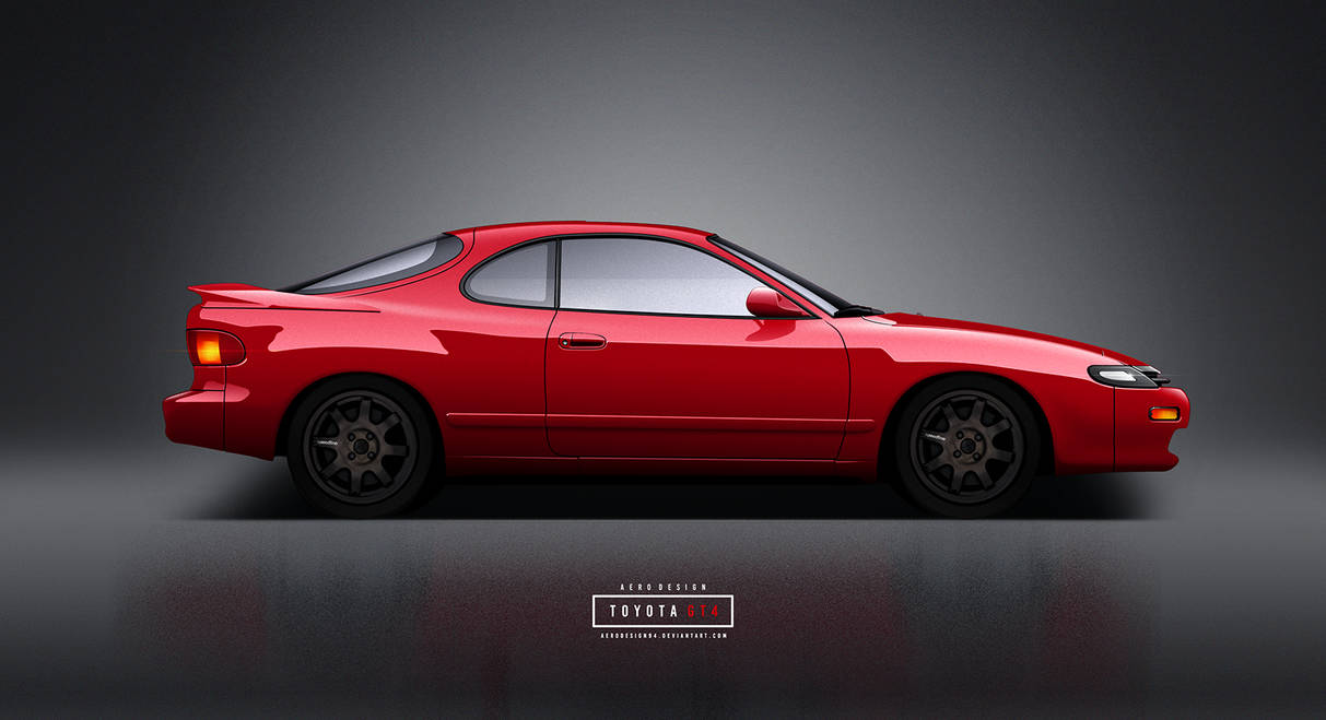 Toyota Celica GT4 by AeroDesign94 on DeviantArt