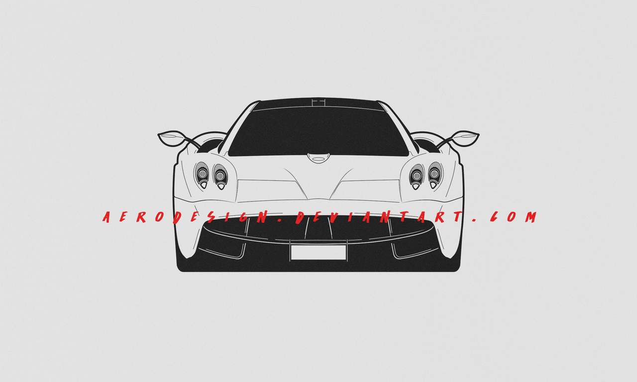 COMMISSION: Huayra by AeroDesign94