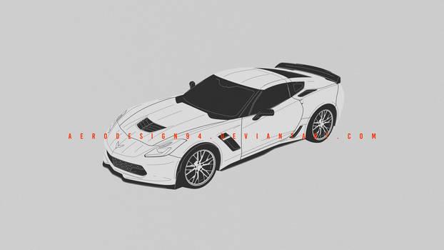 COMMISSION: Corvette