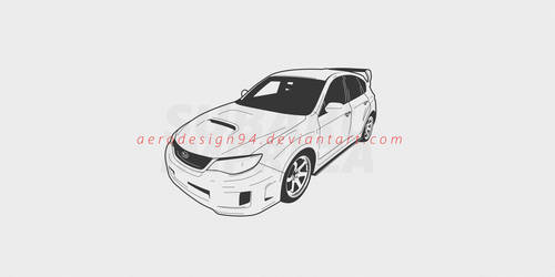 Subaru wrx Impreza by AeroDesign94