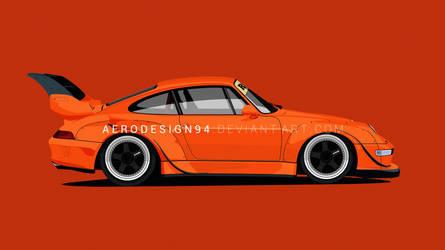 RWB Porsche by AeroDesign94