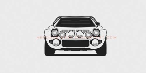 Lancia Stratos by AeroDesign94