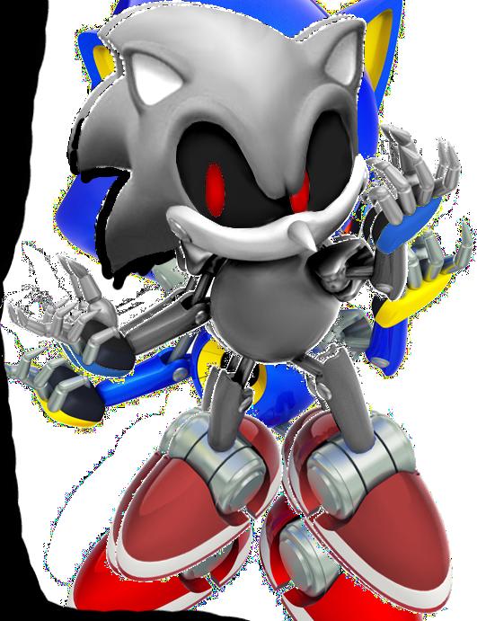 Silver Sonic :D by StarKiD64