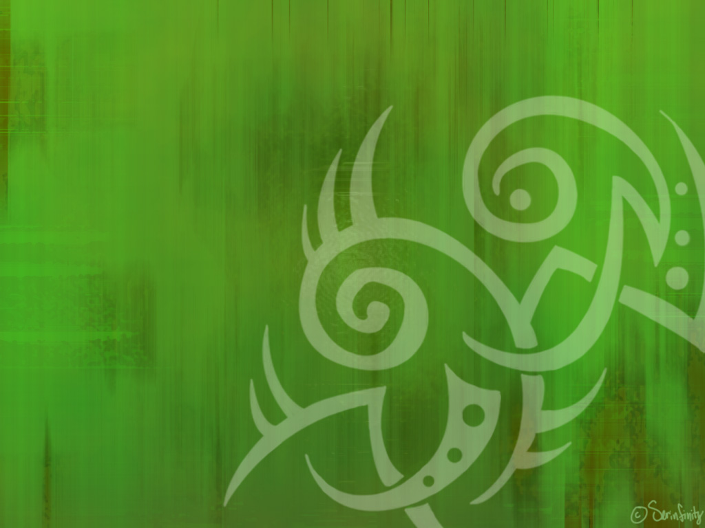 green tribal wallpapers - photo #14