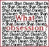 Darren Shan - What Obsession? by Balsimka13