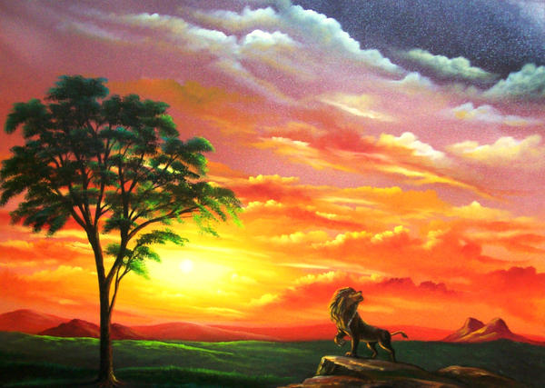 Sunset Africa by Nathanm4