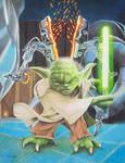 Yoda Jedi - Finished