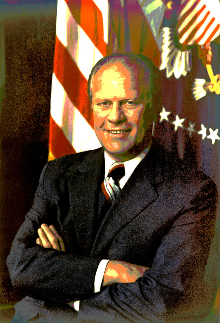 Gerald R Ford Jr by Ascendaeus