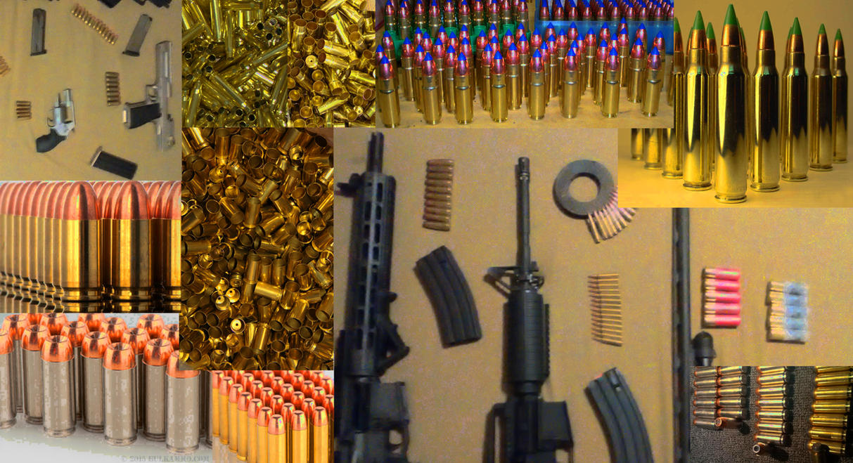 Guns  Bullets by Ascendaeus