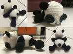 Derpy Panda (pattern from aphid777)