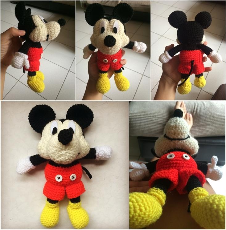 Mickey Mouse Amigurumi by hollowtemptation on DeviantArt