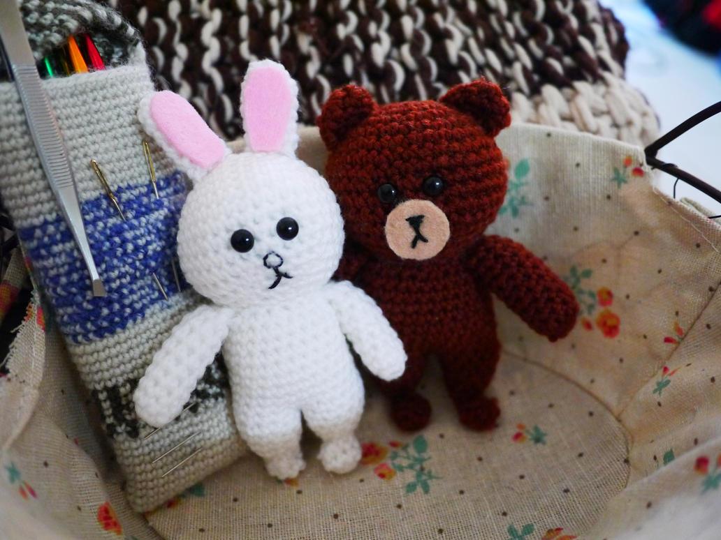 Amigurumi Forum Net : Line brown and cony amigurumi doll! by hollowtemptation on deviantart