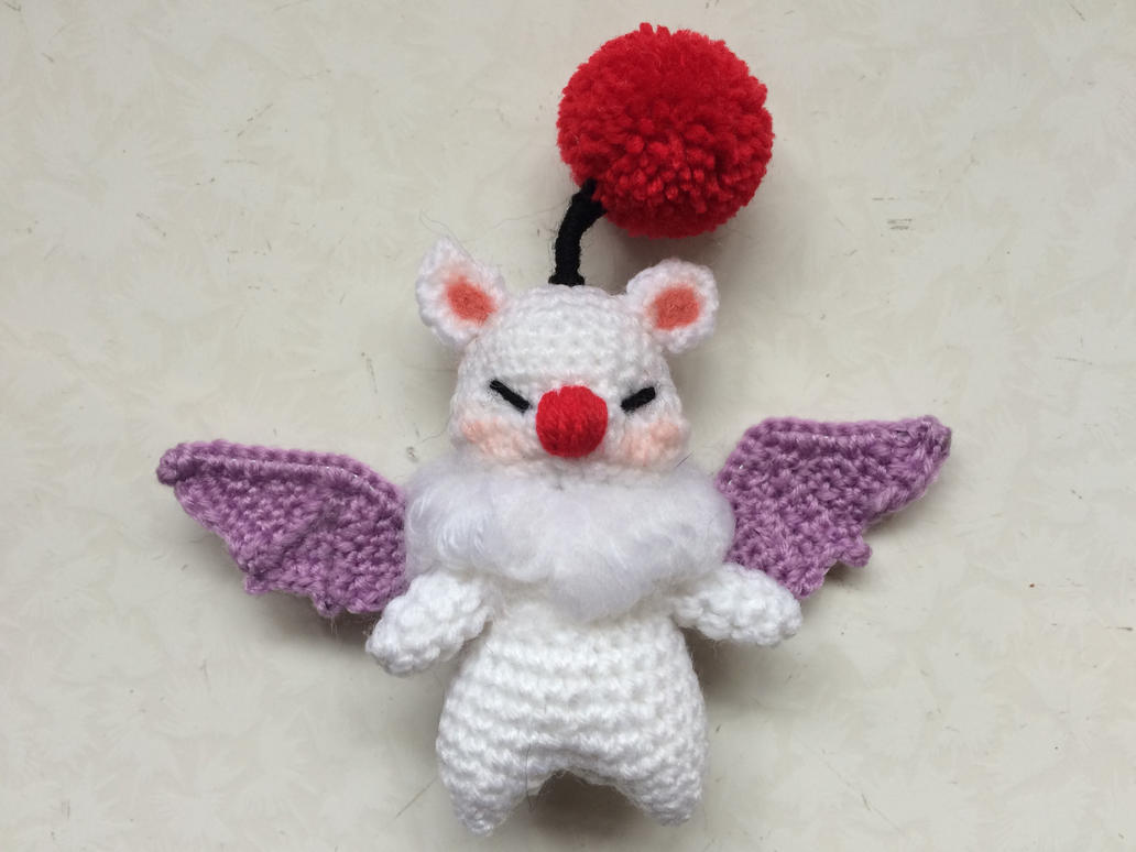 Moogle Amigurumi Doll by hollowtemptation on DeviantArt