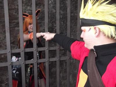 naruto kurama in the gate by SentaireKuramcosplay