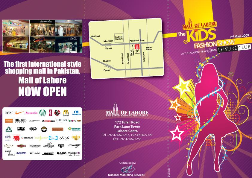 Kids Fashion Show Logo Kids Fashion Show Brochure by