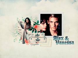 Alex and Vanessa -wallpaper by LikeABubblegum