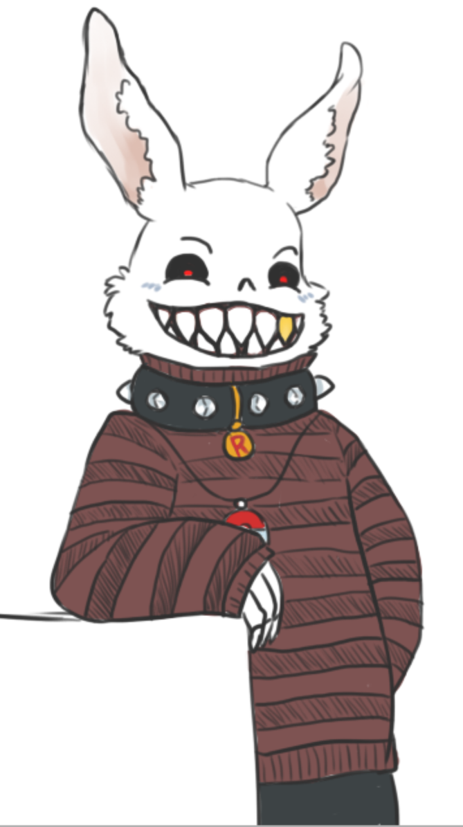 Rabbit Fell!Sans style by AchromicWhite