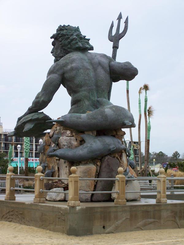 Neptun Back by NyanaeveStock