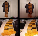 Hufflepuff Scarf - Harry Potter.