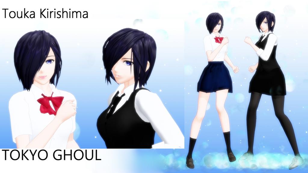 Tokyo Ghoul Touka Kirishima Model DL by hzeo