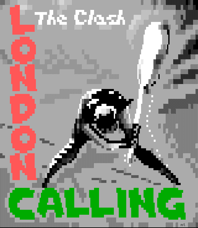 The Clash - London Calling - ANSI by m1sfit