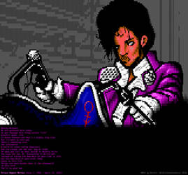 Prince - Let's Go Crazy - ANSI by m1sfit
