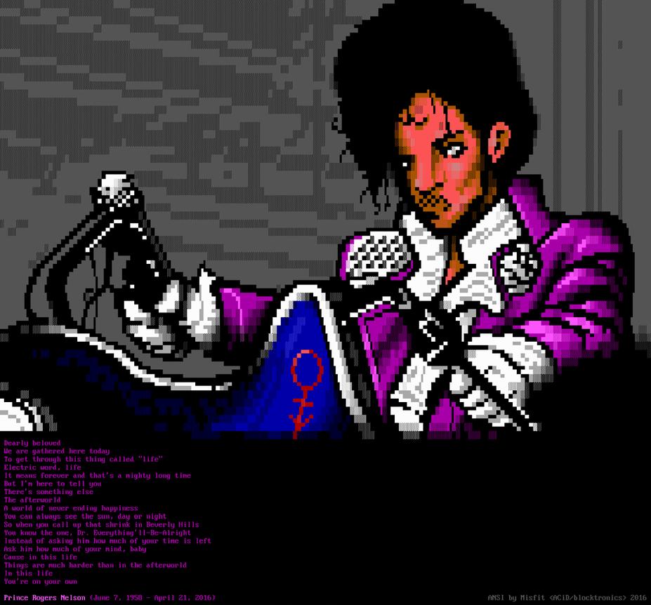 Prince - Let's Go Crazy - ANSI by m1sfit