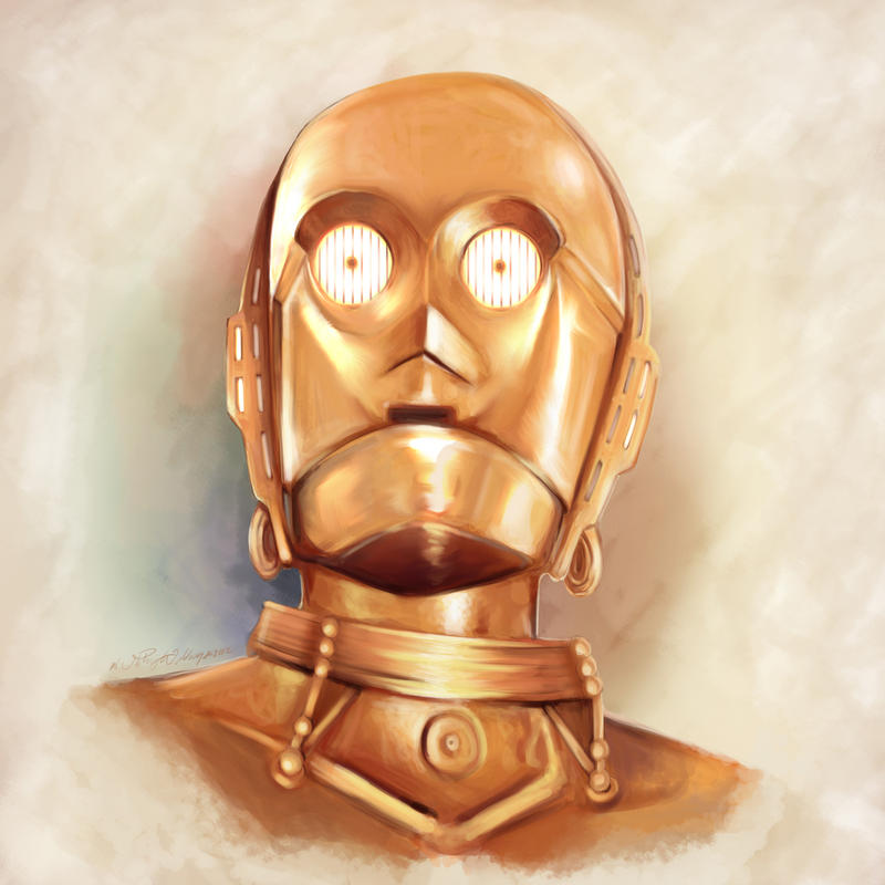 C3PO by whitneyw