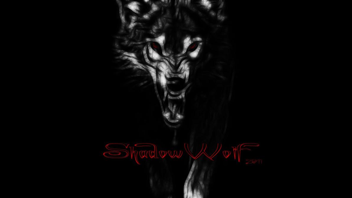 ShadowWolf Wallpaper By 666