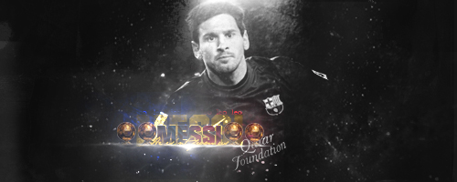 Lionel Messi | FC Barcelona | Signature by Showbodygame