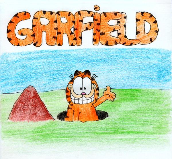 Garfield by GreenlandsGirl