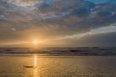 Bright Sunset by GreenlandsGirl
