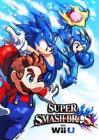 Smash Bros - Free Falling by Quas-quas