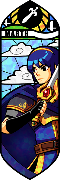 Smash Bros - Marth by Quas-quas