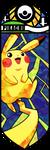 Smash Bros - Pikachu by Quas-quas