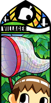 Smash Bros - Villager #1