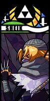 Smash Bros - Sheik by Quas-quas