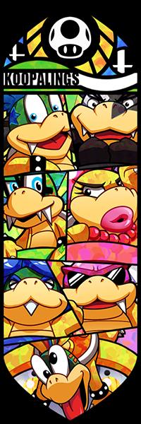 Smash Bros - Koopalings by Quas-quas