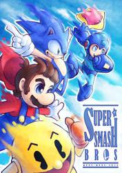 Smash Bros - Free falling Remake by Quas-quas