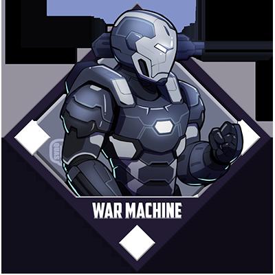 war machine logo marvel