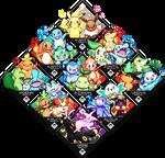 Pokemon Starters v2