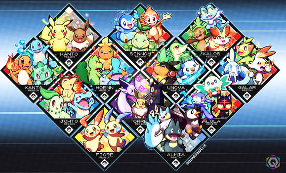 Pokemon Starters Updated