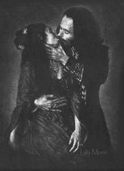 Mina and Dracula by Girlgoth