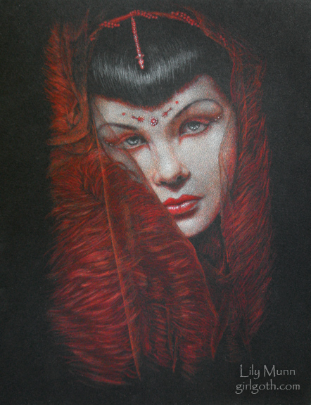 Red Veil by Girlgoth