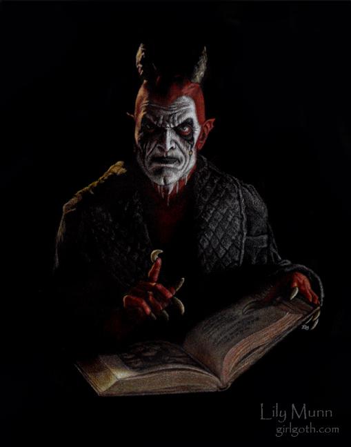 TDC Lucifer by Girlgoth