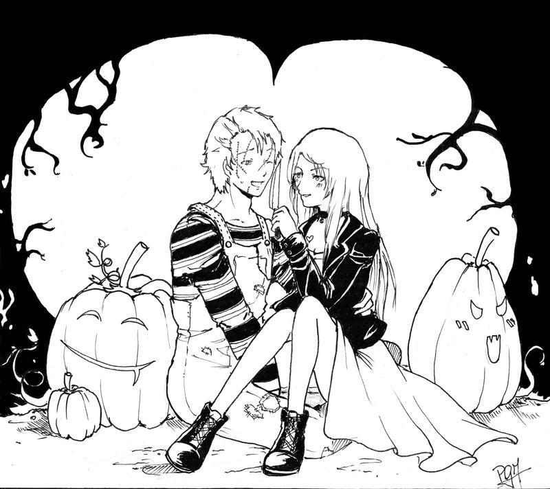 Happy halloween by GM-Pi