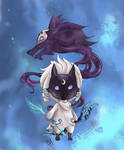 League of Legends - Kindred Chibi