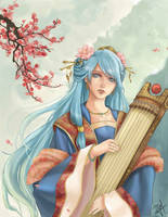Sona ~The Maven of the Strings~ by GM-Pi