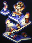 Donkey Kong y Mario