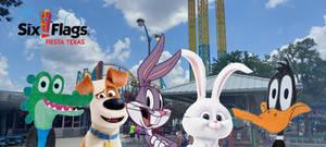 Bugs Bunny's Friends Enjoys Six Flags Fiesta Texas